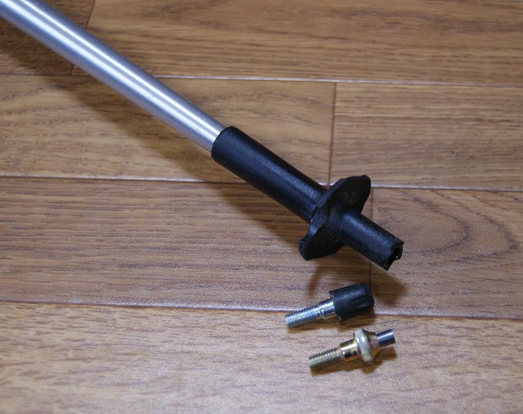 トレッキングポールをノルディックウォーキング用に改造してみる<ブラックダイヤモンド・ディスタンスFL/FLZ>4