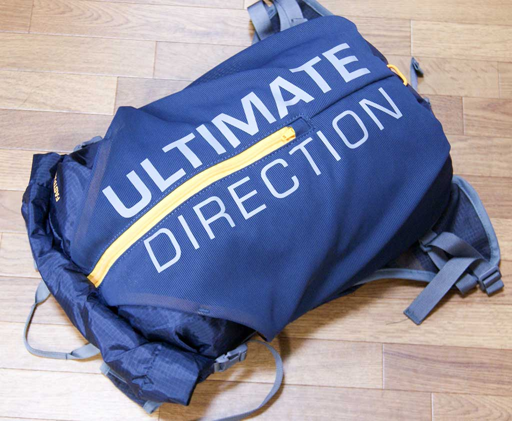 レビュー<ULTIMATE DIRECTION(アルティメイトディレクション) FASTPACK 15(ファストパック15)>1