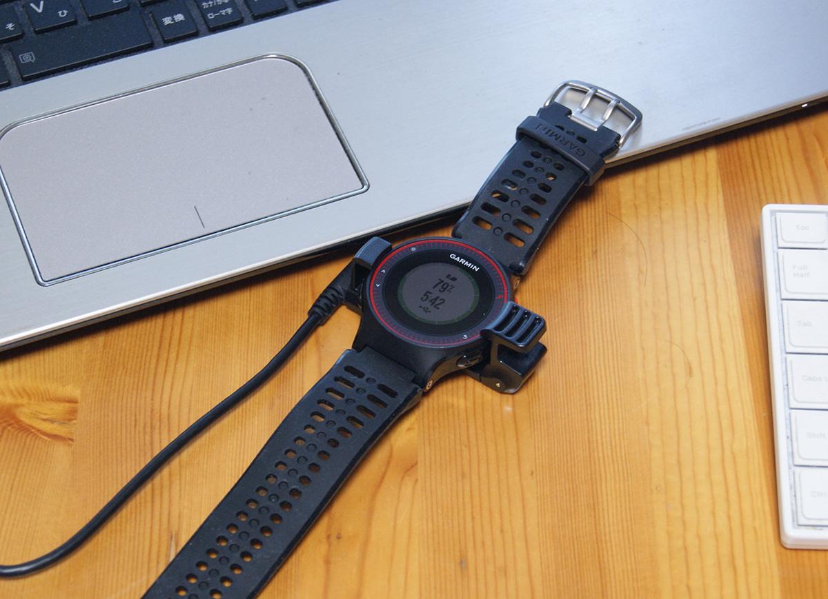 心拍ランニングがしたくて心拍計付き腕時計を買いました<ForeAthlete225J>