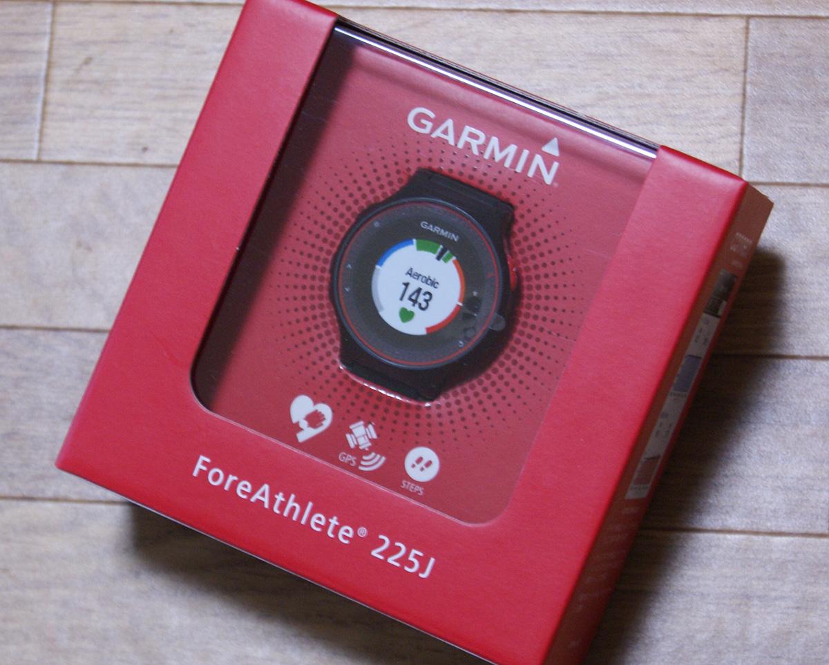 心拍ランニングがしたくて心拍計付き腕時計を買いました<ForeAthlete225J>1