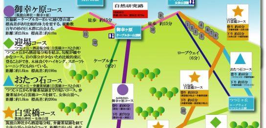 おススメの見やすい筑波山登山コース