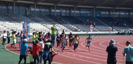 はじめてのマラソン大会はぶっちぎりのビリでした(ハーフリレーのスタート)