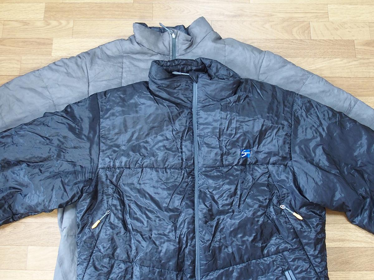 ポリゴン2ULジャケットとは全く違うポリゴン4ジャケットのサイズ感<ファイントラック(finetrack)>1