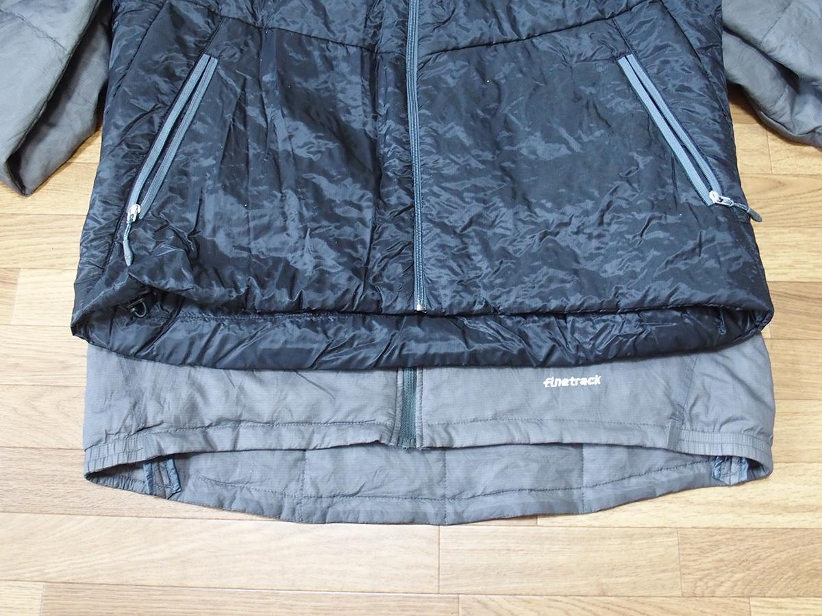 ポリゴン2ULジャケットとは全く違うポリゴン4ジャケットのサイズ感<ファイントラック(finetrack)>2