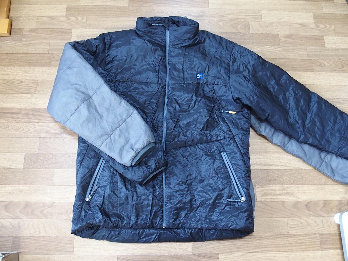 ポリゴン2ULジャケットとは全く違うポリゴン4ジャケットのサイズ感<ファイントラック(finetrack)>3