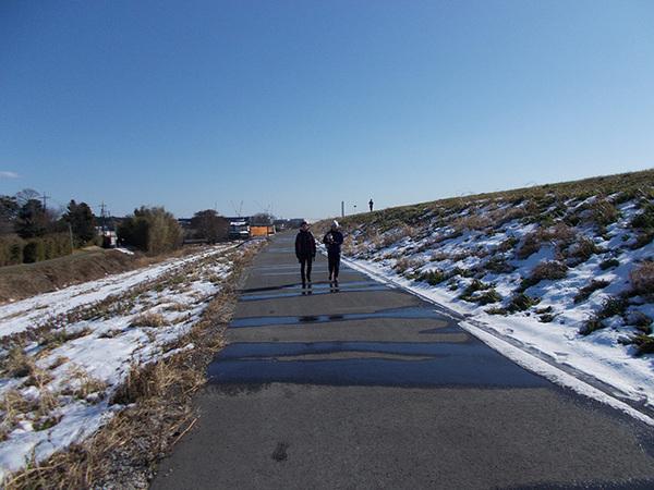 また雪!先週末のランニングは寒くて途中で引き返し7