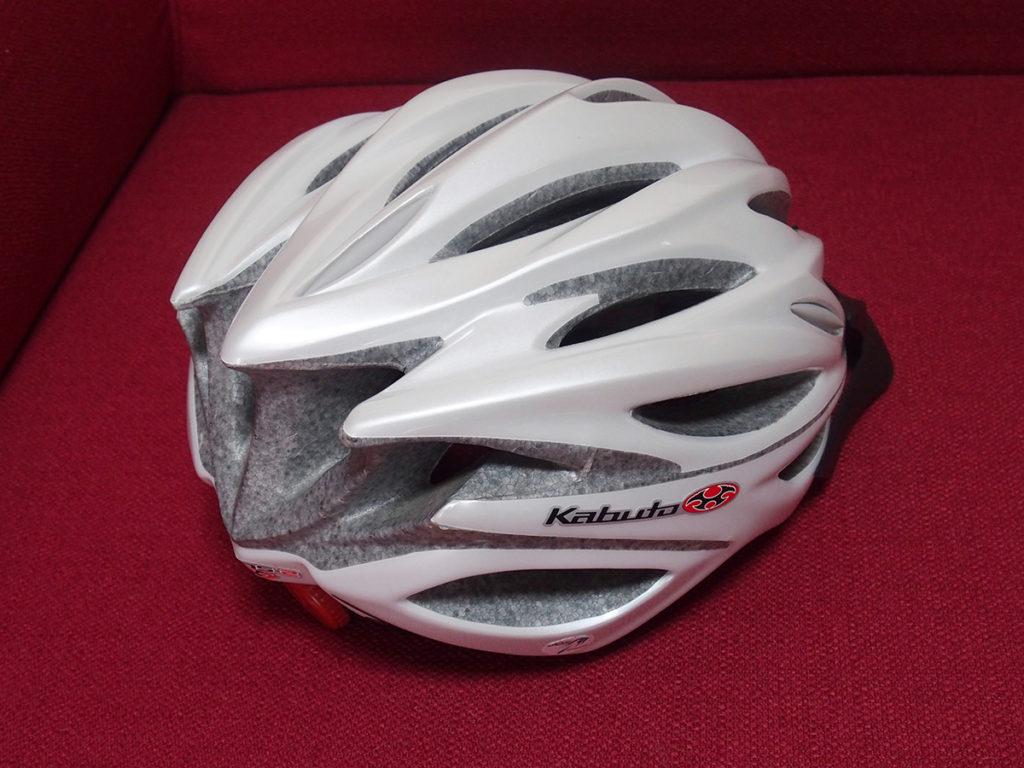 「キノコになりにくい初心者用ヘルメット」を買ってもらいました<OGK KABUTO>2