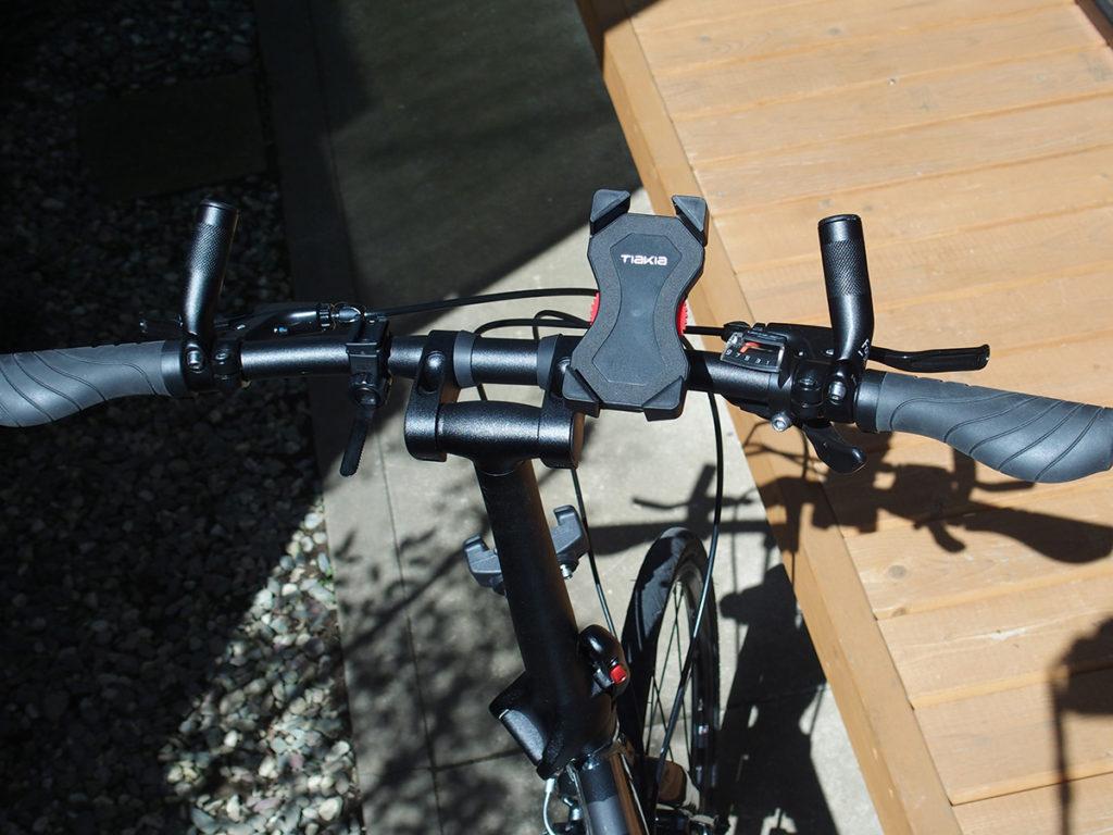 ターン(Tern) Verge(ヴァージュ)のハンドルが広すぎるので両端カット<自転車のハンドル幅はどのくらい?>1