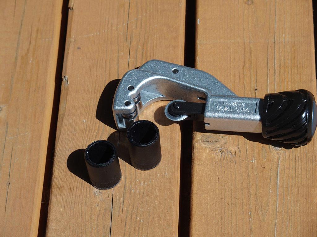 ターン(Tern) Verge (ヴァージュ)のハンドルが広すぎるので両端カット<自転車のハンドル幅はどのくらい?>3