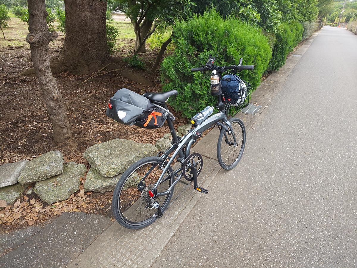折り畳み自転車のハンドルをカットする2