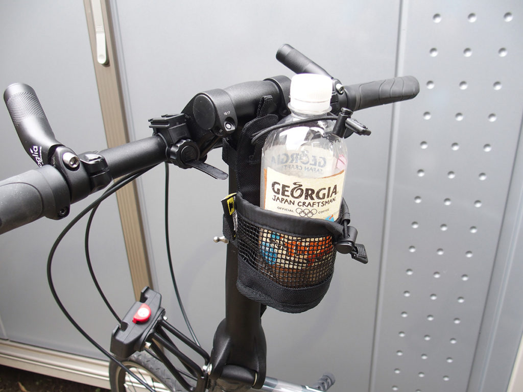 折り畳み自転車におススメのボトルホルダー<ダホン(DAHON)、ターン(Tern)>5