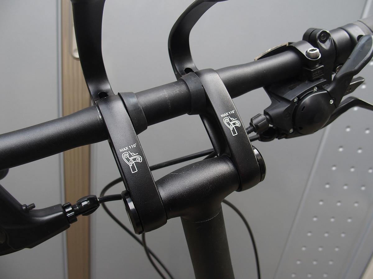アンドロステム Andros Stem 65 角度の範囲1
