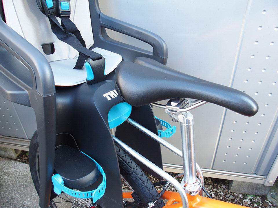 スポーツバイク(クロスバイク)・折り畳み自転車にチャイルドシートを取り付け<THULE(スーリー) Ride Along >7 ジャイアント グラビエ