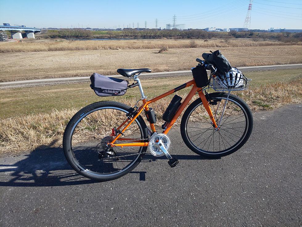 ビックベン 近くのサイクリングコースを60kmほど走ってみました。