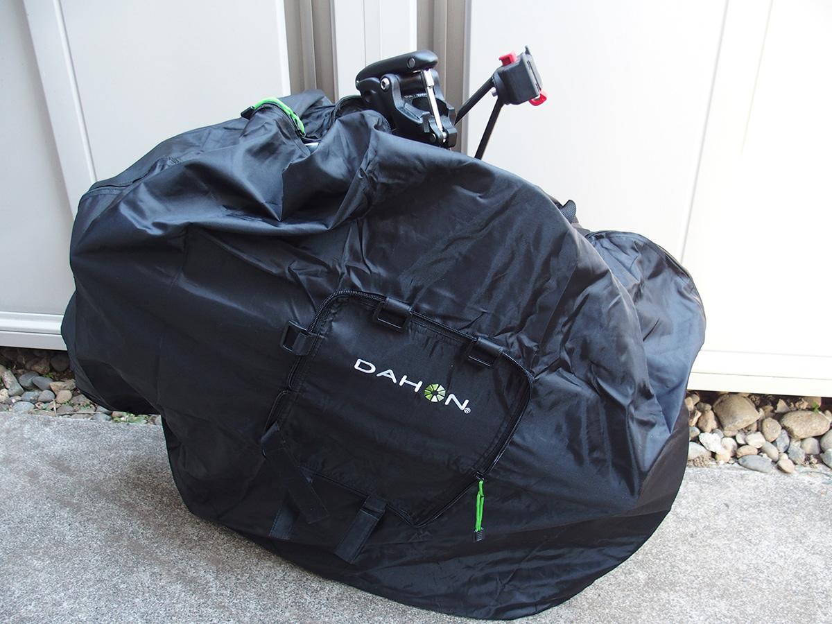 DAHON輪行袋、「DAHON Slip Bag 」のサイズ選び!!2