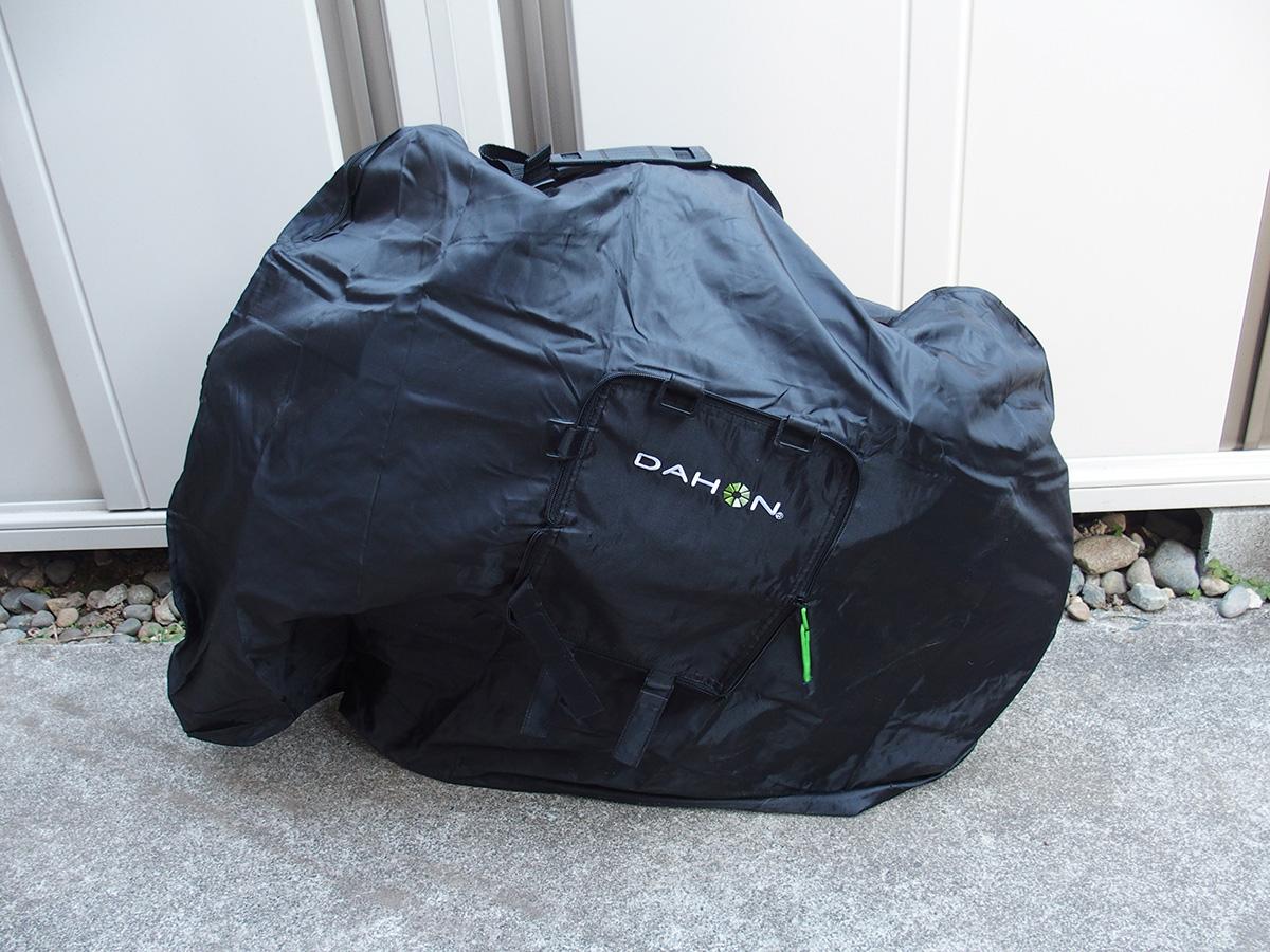 DAHON輪行袋、「DAHON Slip Bag 」のサイズ選び!!5