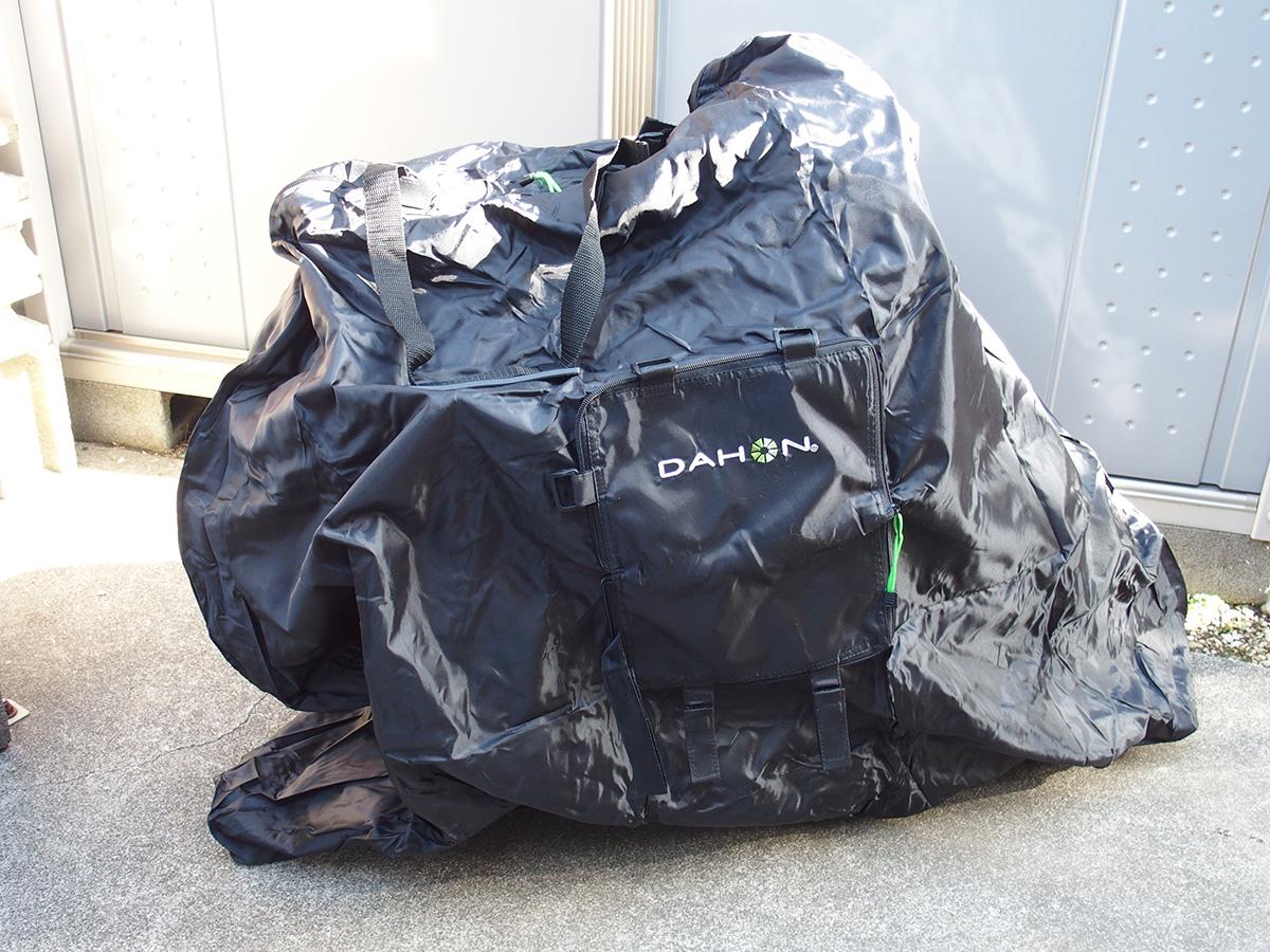 DAHON輪行袋、「DAHON Slip Bag 」のサイズ選び!!7