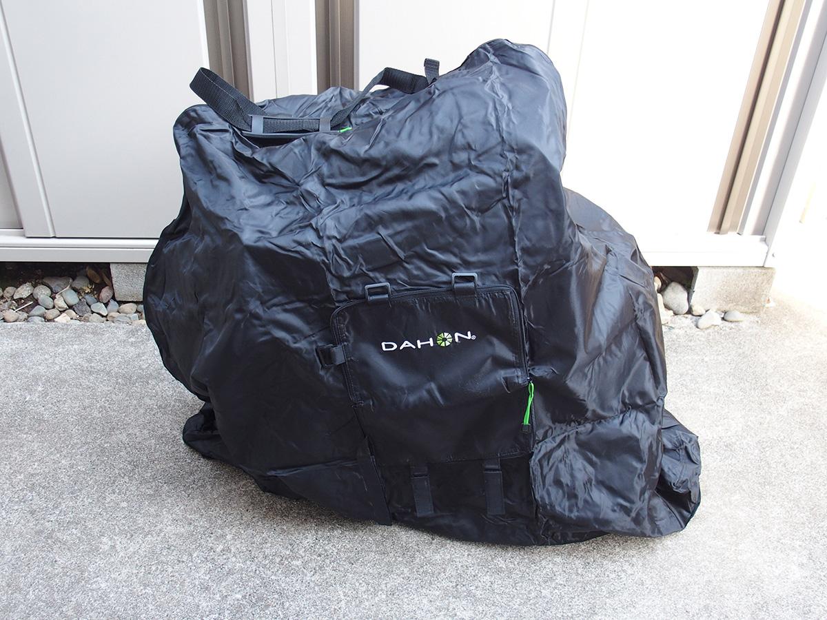 DAHON輪行袋、「DAHON Slip Bag 」のサイズ選び!!8