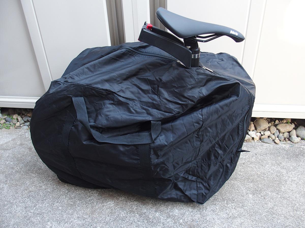 輪行袋 家での保管、車の移動での利用ならこれでも十分