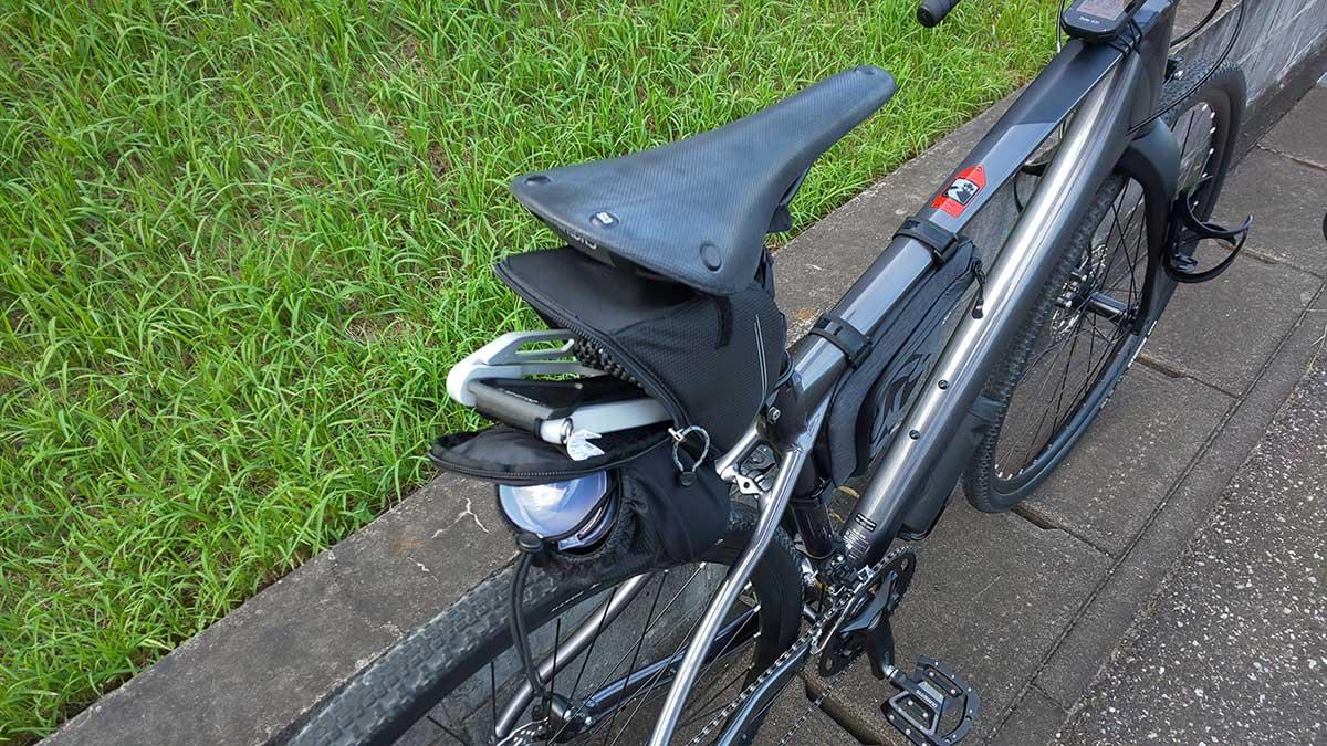 トピーク(TOPEAK) フラッシュ スタンド レビュー<RX 私の自転車ではそのままでは使えなかったので改造>10