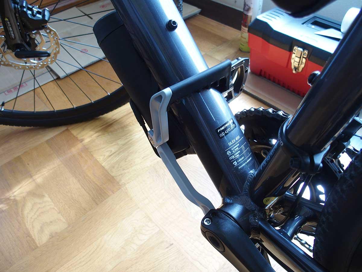 トピーク(TOPEAK) フラッシュ スタンド レビュー<RX 私の自転車ではそのままでは使えなかったので改造>4