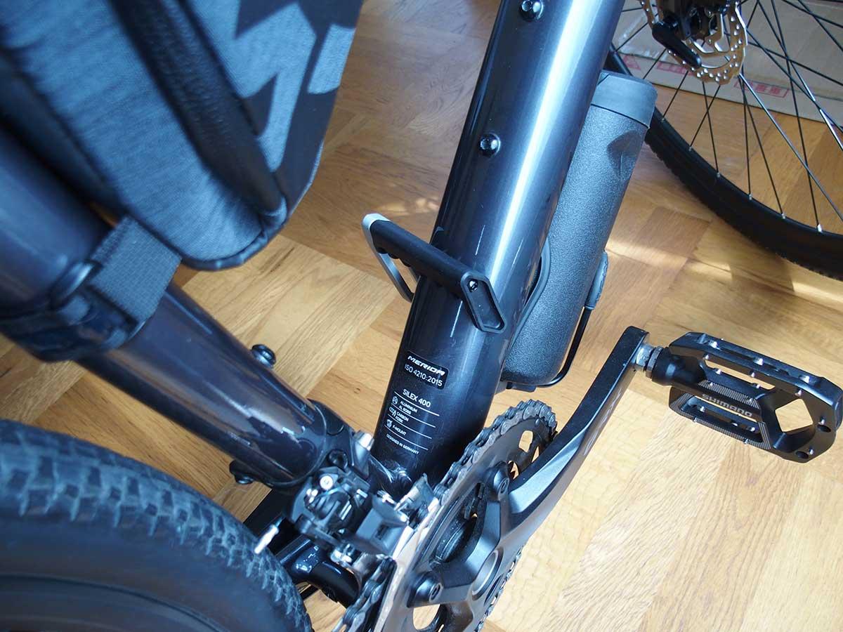 トピーク(TOPEAK) フラッシュ スタンド レビュー<RX 私の自転車ではそのままでは使えなかったので改造>5