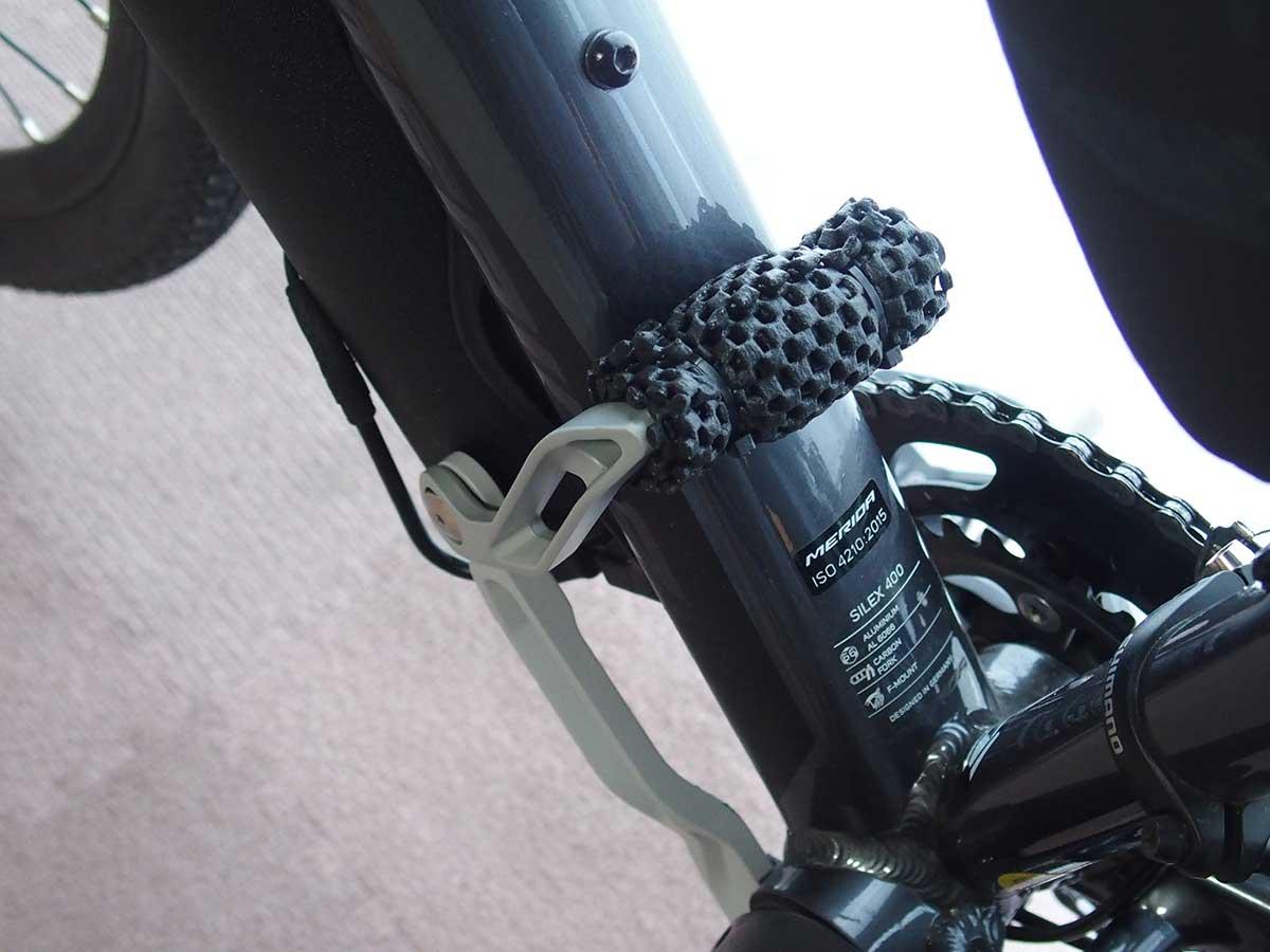 トピーク(TOPEAK) フラッシュ スタンド レビュー<RX 私の自転車ではそのままでは使えなかったので改造>7